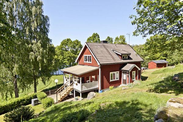 På sommaren - huset