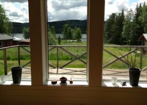 Terrass - Fritidshus Lofsdalen