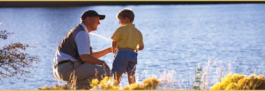 Fishing or relax? - Holiday homes directly by the lake!
