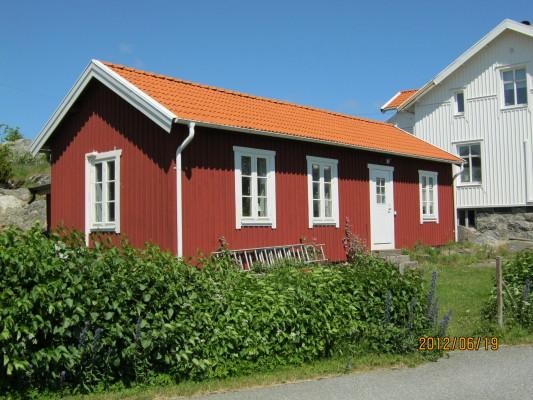 På sommaren - Huset sett från havssidan