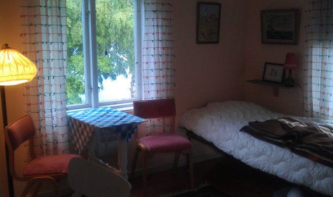 Sovrum - Ett av sovrummen i Lillstugan
