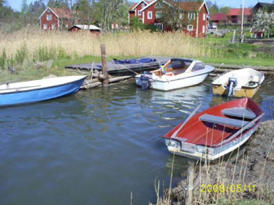 på sommaren - båtar