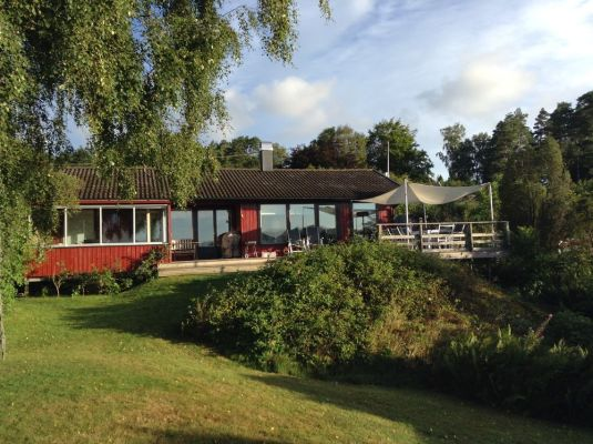 View summer - Sjötomt Gullmarsfjorden