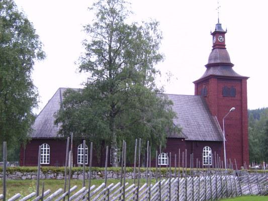 Omgivning - Ekhärads kyrka