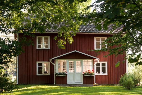 Ansicht Sommer - Willkommen in Lindesskogen (im Lindenwald)