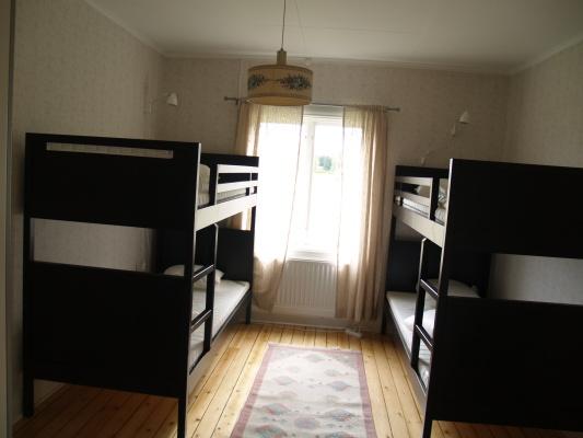 Sovrum - Två våningssängar, för 4 personer
