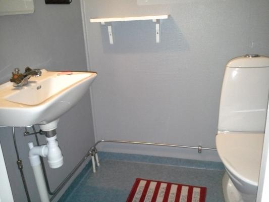 Badrum - Tvättrum med WC övervåning