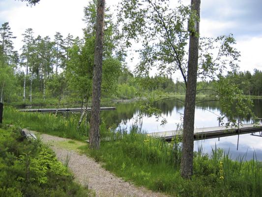 Omgivning - närmaste sjön