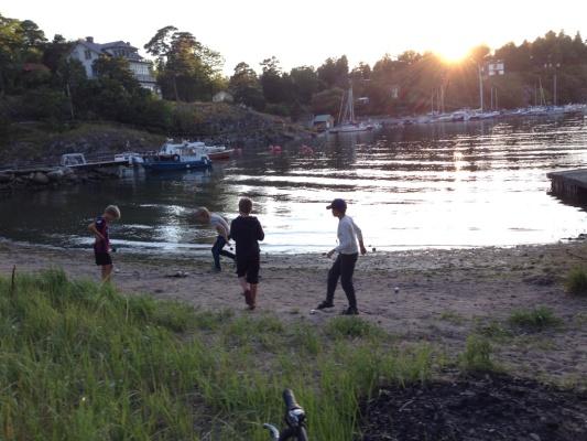 Övrig - Solnedgång vid stranden