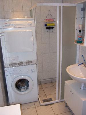 Övrig - dusch, tvättmaskin, torktumlare