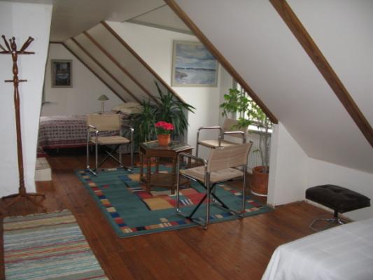 Sovrum - Sovrummet övre våningen