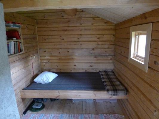 Sovrum - säng