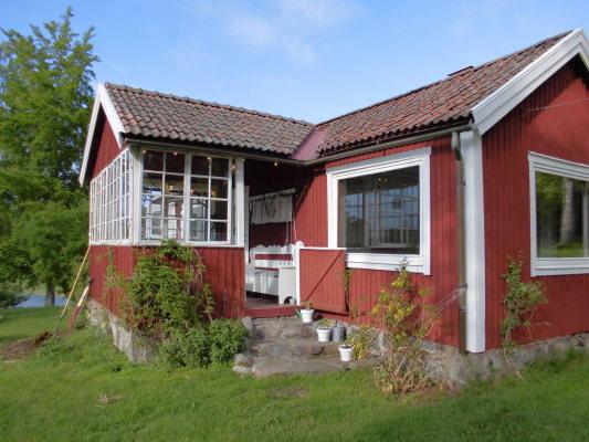Utomhus - Typiskt skärgårdshus