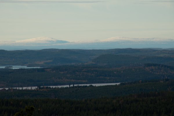 på sommaren - en vacker utsikt, 15 km från stugan