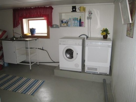In house - laundry-room in the basement