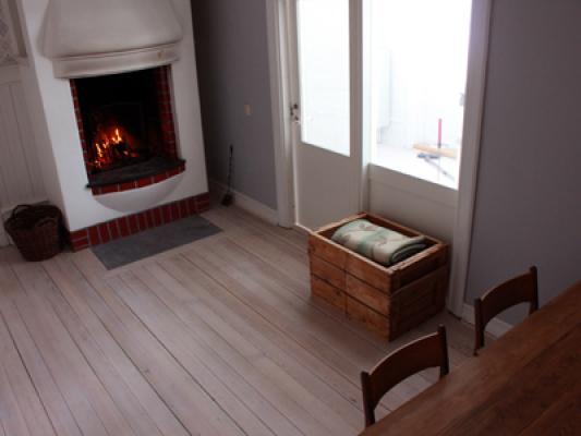 Vardagsrum - rum med oppen spis