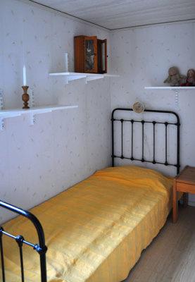 Sovrum - Ett av de mindre sovrummen.