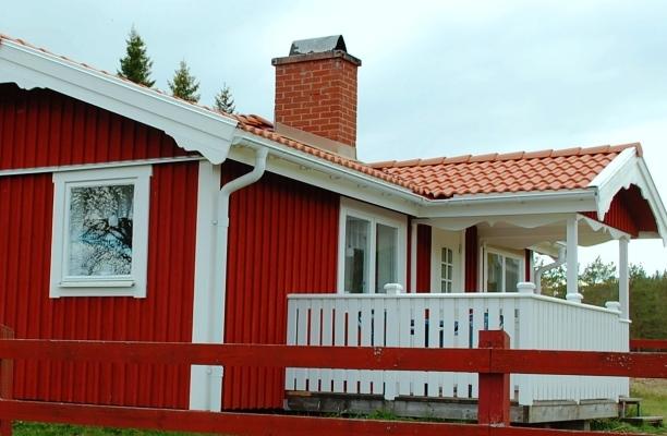 På sommaren - Stuga Foxarp