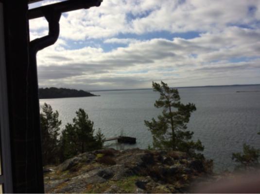 view winter - Muskö Snappudd