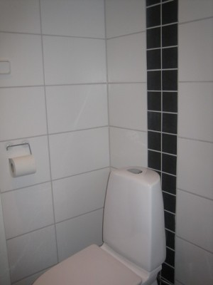 bath room - WC in servicehouse