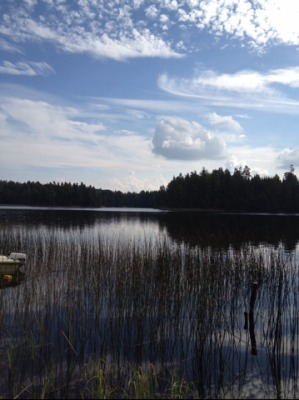 på sommaren - Ålsjön