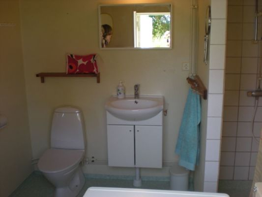 Badrum - WC och Dusch nedervåning