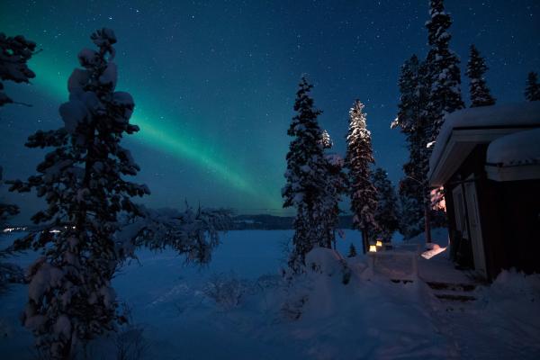 På vintern - Arctic Light suite