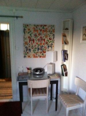 Vardagsrum - vardagsrum med skrivbord