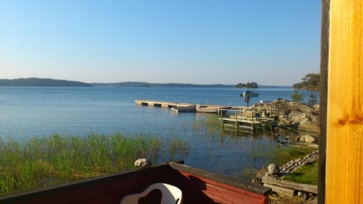 På sommaren - Utsikt över Horsfjärden i norr
