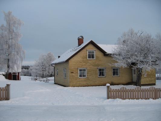 På vintern - Vinterbild