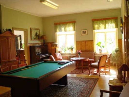 Living room - billiard room