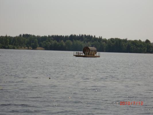 Övrig - Flytbastun i sjöviken kan hyras på plats.