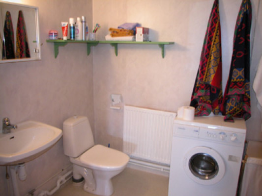 Badrum - badrum med tvättmaskin