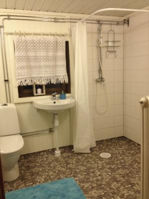 Badrum - Nyrustat badrum .