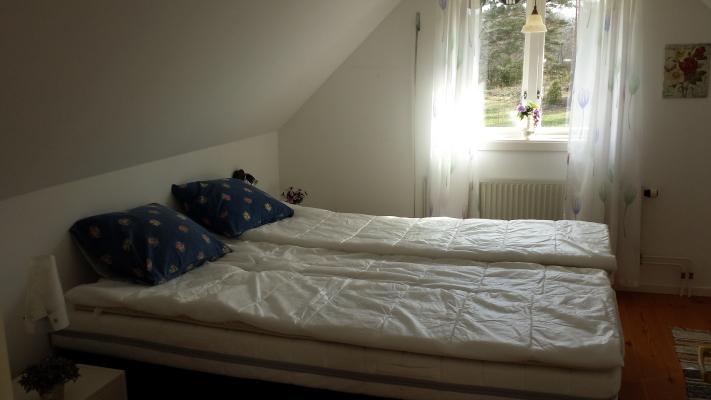 Sovrum - Dubbelsäng, ovanvåning