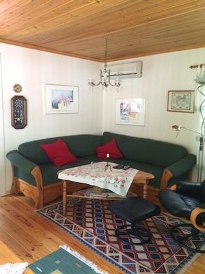 Vardagsrum - Bäddsoffa i vardagsrum