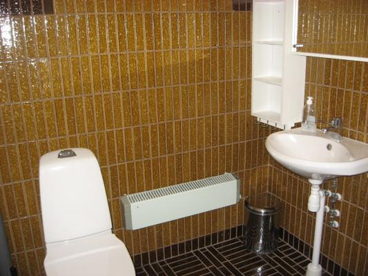 Badrum - wc/ tvättställ