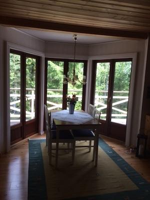 Vardagsrum - Matplats i vardagsrummet