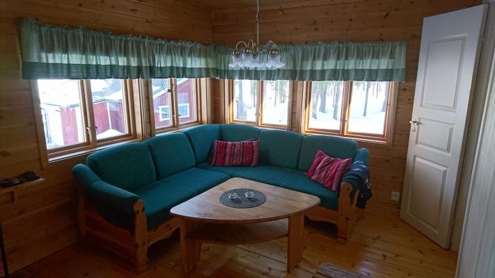 Vardagsrum - Båthusstuga