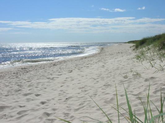 på sommaren - Stranden i Falsterbo (20 minuters bilresa).