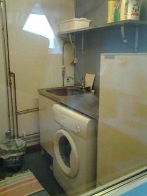 Interiör - tvättstugan