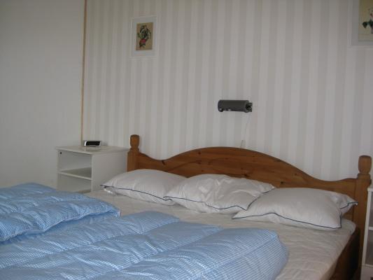 sleeping room - double bed