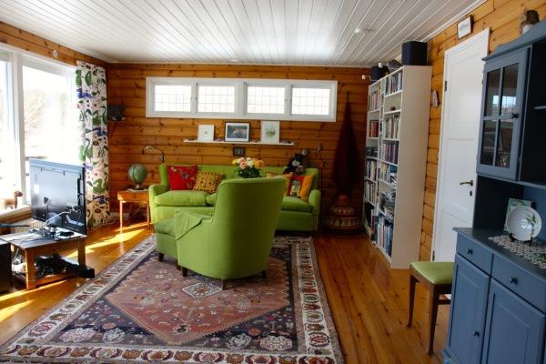 Vardagsrum - Rymligt och ljust vardagsrum