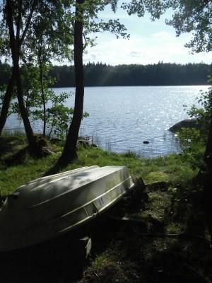 Utomhus - inklusive roddbåt