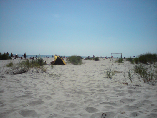 På sommaren - Goe strand