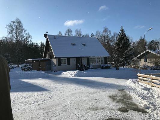 Ansicht Winter - Villa Ankarsrum