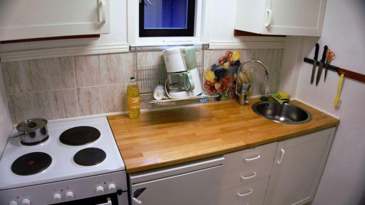 Küche - Sommarrummet