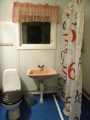 Badrum - Husets badrum, duschhörna.