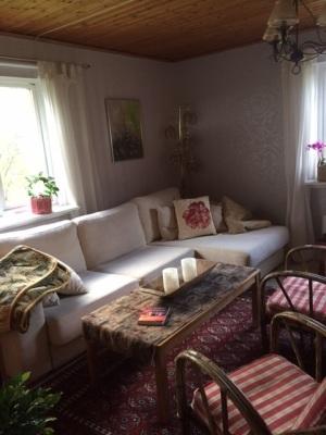 Vardagsrum - Trevligt att sitta i vardagsrummet