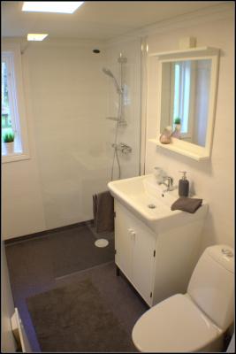 Badezimmer - Kramphult Sjöåkra